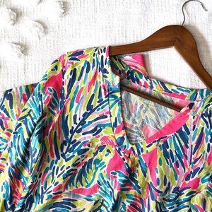 Lily Pulitzer Multicolored Mini Shift Dress!